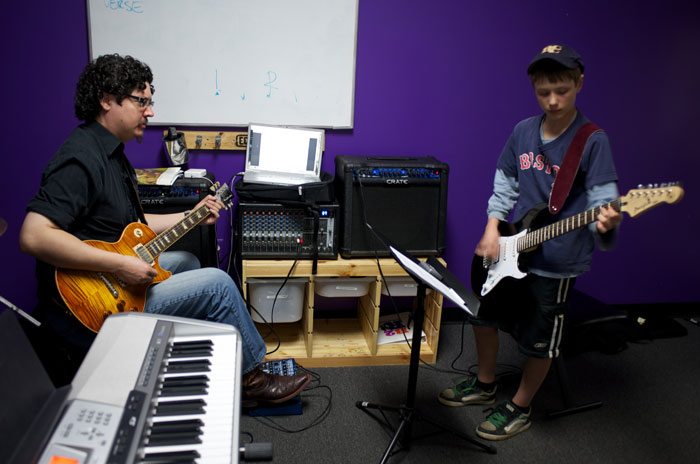 watch kids grow with Bach to Rock franchise opportunities