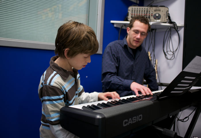 piano lessons at one of our music education franchises