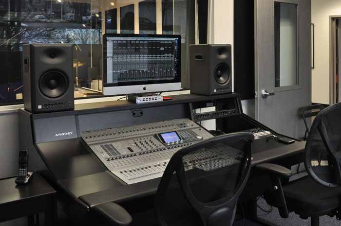 recording studios in our music education franchises