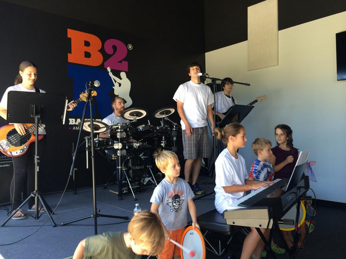 Bach to Rock music franchise schools flourish in suburban communities located close to a city where extracurricular activities abound — karate and dance studios, learning centers and private schools.