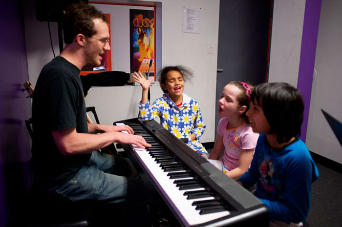 Students at Bach to Rock franchises typically take more music lessons than in traditional curricula.