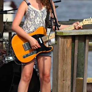 Bach to Rock franchise student Calista Garcia