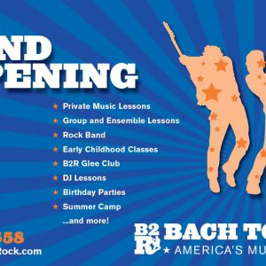 Bach to Rock 10 Years Northbrook Grand Opening