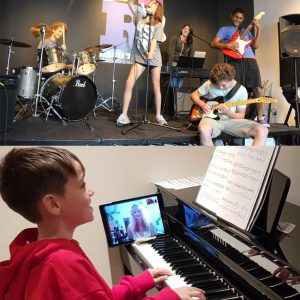 In School & Online Music Lessons & Camps
