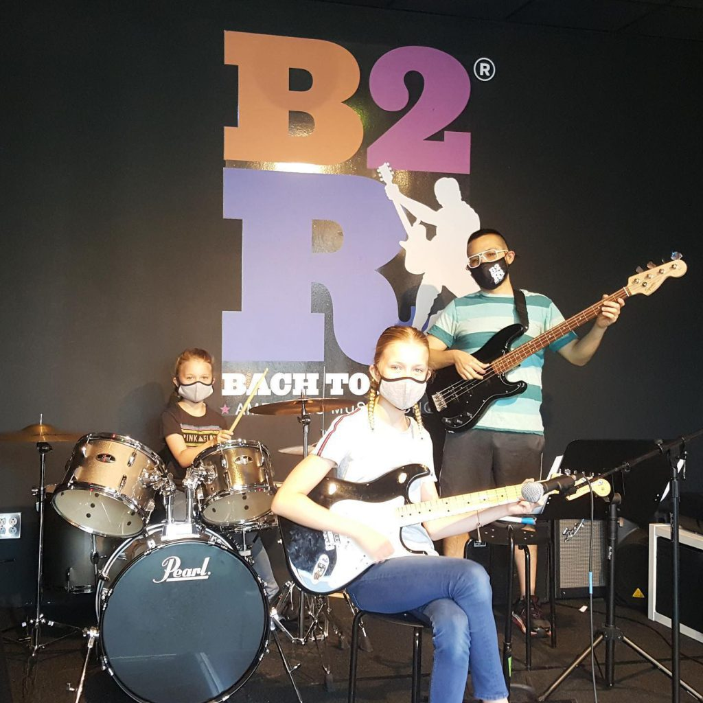 Bach to Rock Student Band